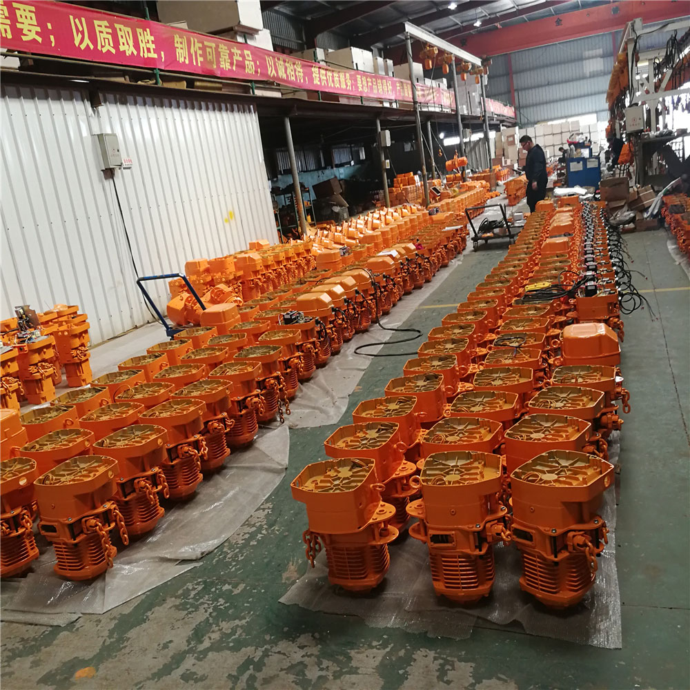 014-MHTOOL-WKTO-Electric-Chain-Hoist-Production-2